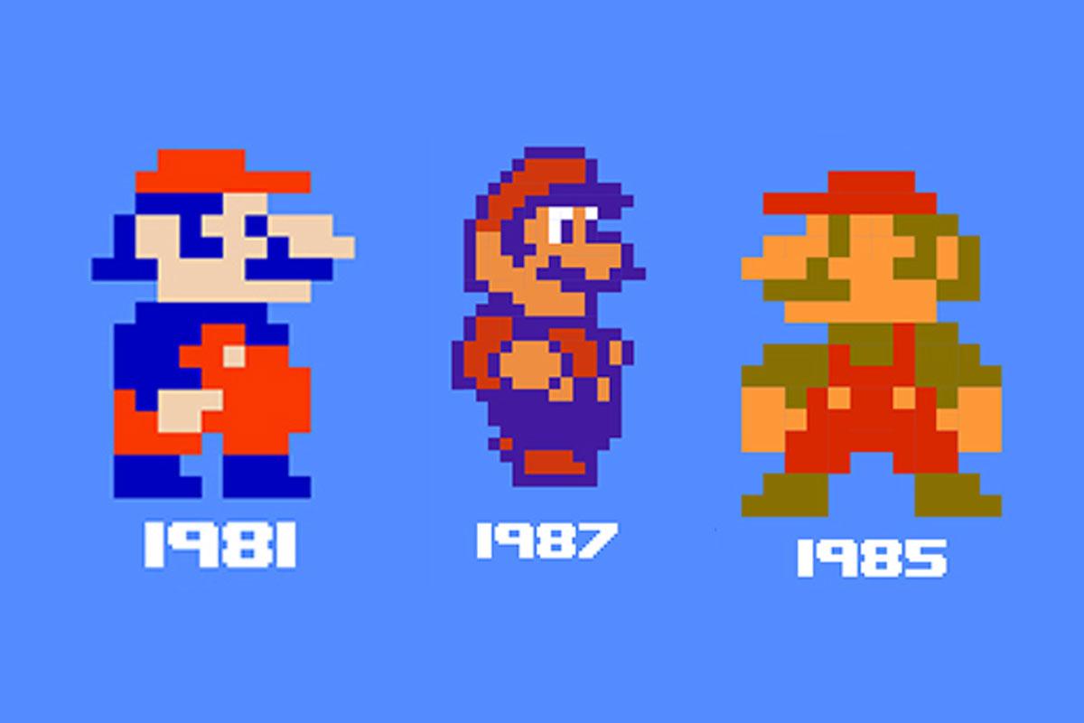 Super Mario Bros Infographic
